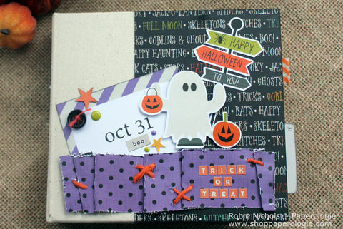 Halloween 6 x6 Mini Album