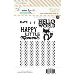 Webster's Pages Hello World Stamp Set 2