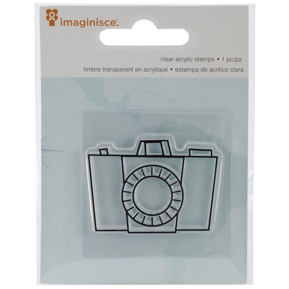 IMAGINSCE-Perfect Vacation Clear Acrylic Snag'ems Stamp 2