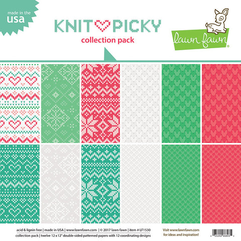 Lawn Fawn - Knit Picky Collection Pack