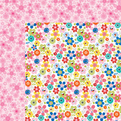 Bella Blvd - Popsicles & Pandas Collection - Oh Summer 12 x 12 Cardstock