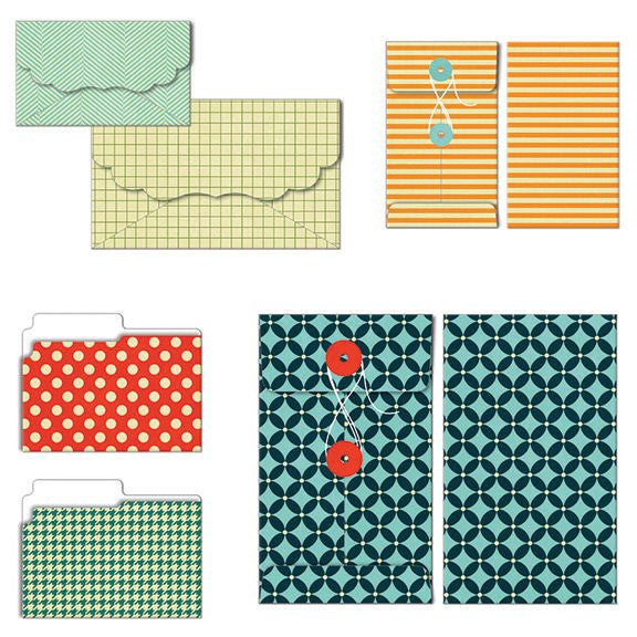 Fancy Pants Be Different Collection Patterned Envelopes