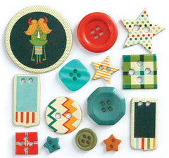 Fancy Pants Be Different Collection - Button Set