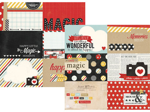 Simple Stories - Say Cheese Horizontal Journaling Card Elements