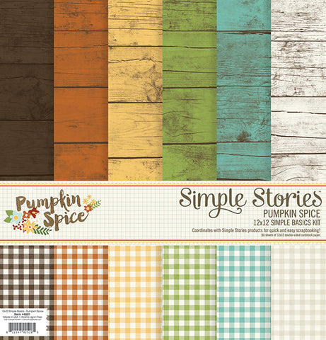 Simple Stories Pumpkin Spice Basic Kit