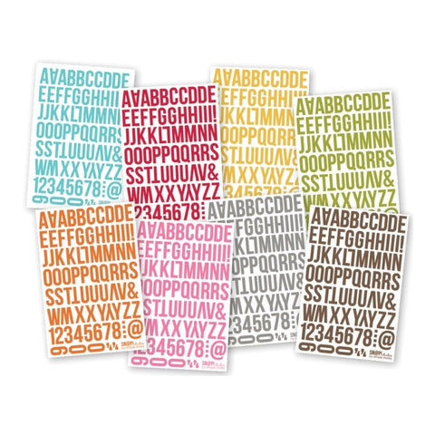 Simple Stories - Color Vibe Brights - 4 x 6 Sticker Pack