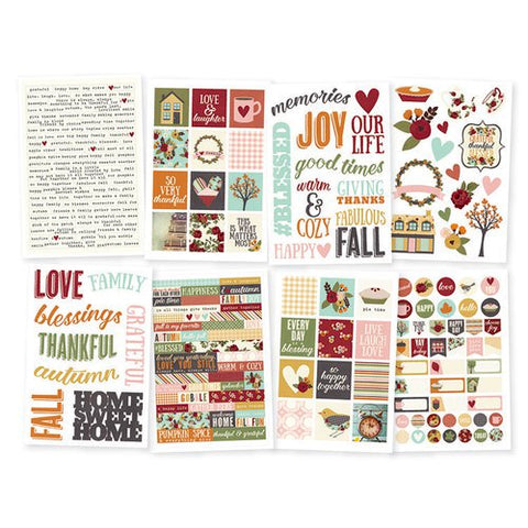 Simple Stories - Vintage Blessings - 4 x 6 Sticker Pack