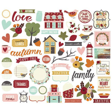 Simple Stories - Vintage Blessings - Bits & Pieces Pack