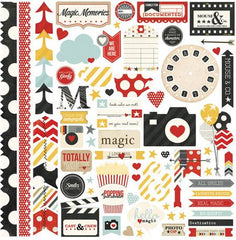 Say Cheese 12 x 12 Fundamental Sticker Sheet by Simple Stories
