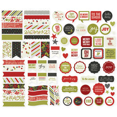 Simple Stories DIY Christmas Card Layers