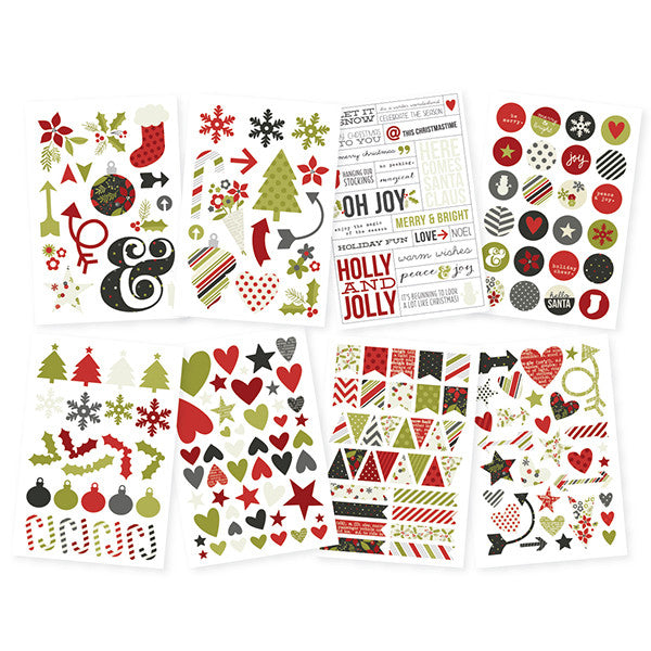 Simple Stories DIY Christmas Icon Stickers