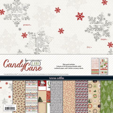 Teresa Collins Candy Cane Lane Collection Kit