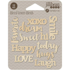 Jillibean Soup - Today Printed Wood Veneer Words