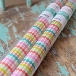 Hazel & Ruby - Wrap It Up Paper Roll- Polka Dot Party