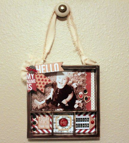 Altered Mini Shadowbox Kit