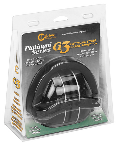 CALDWELL® PLATINUM  G3 ELECTRONIC HEARING PROTECTION