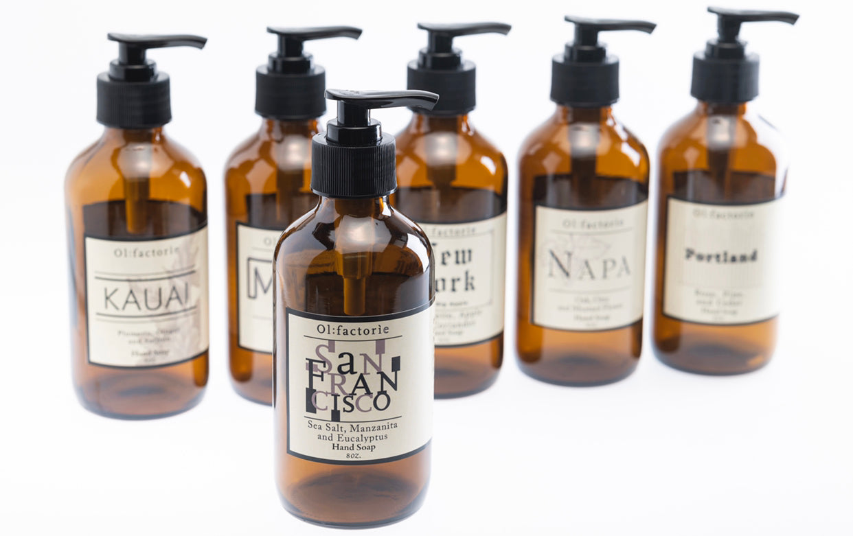 San Francisco Hand & Body Wash - Olfactorie Candles + Apothecary Boutique