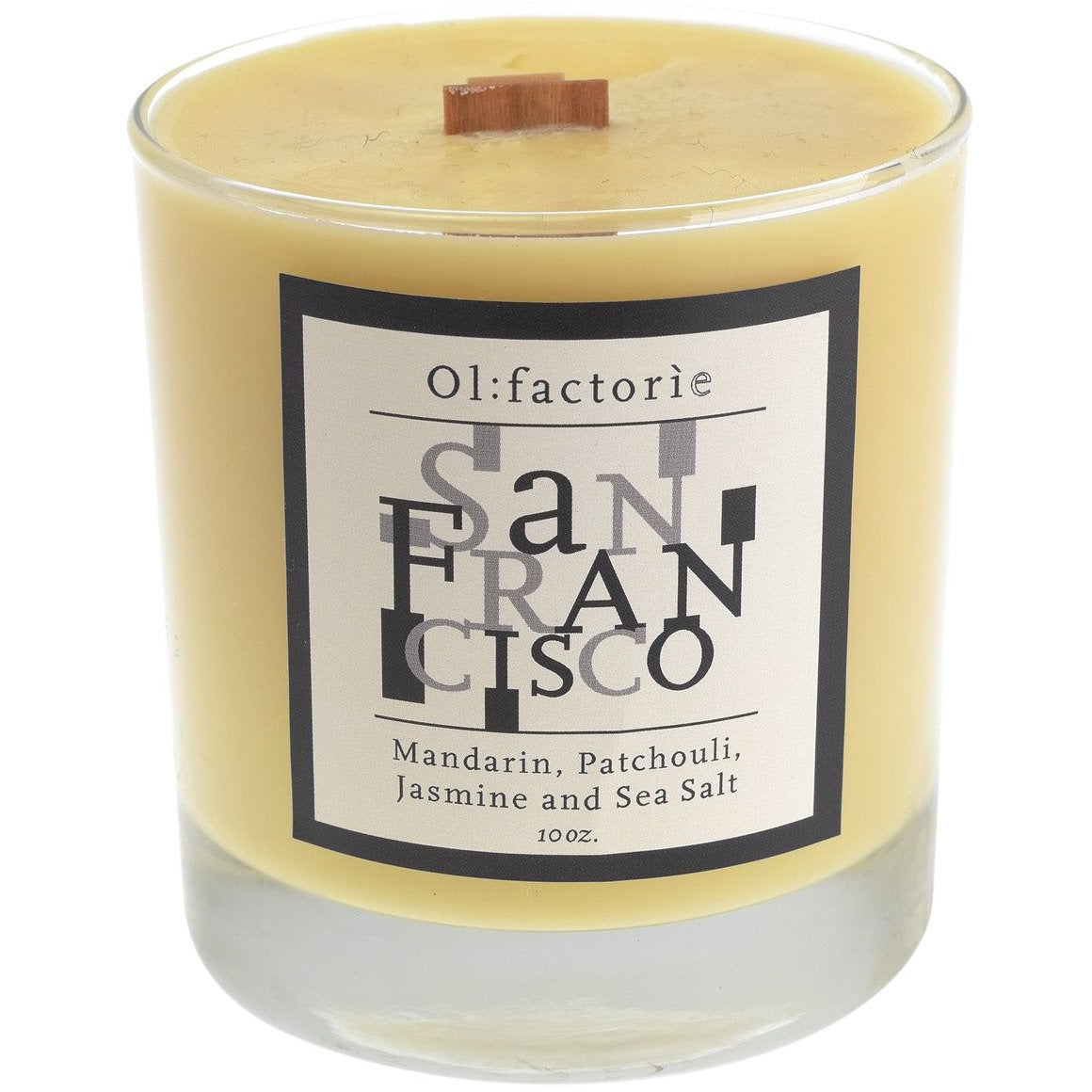 San Francisco Candle 10oz - Olfactorie Candles