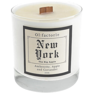New York Candle 10oz - Olfactorie Candles