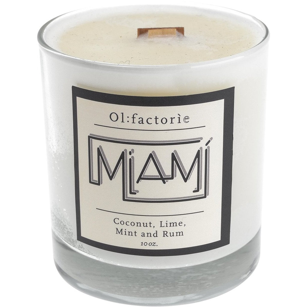 Miami Candle 10oz - Olfactorie Candles