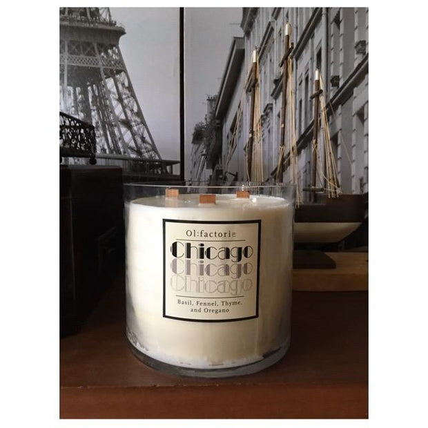 Chicago Candle 1