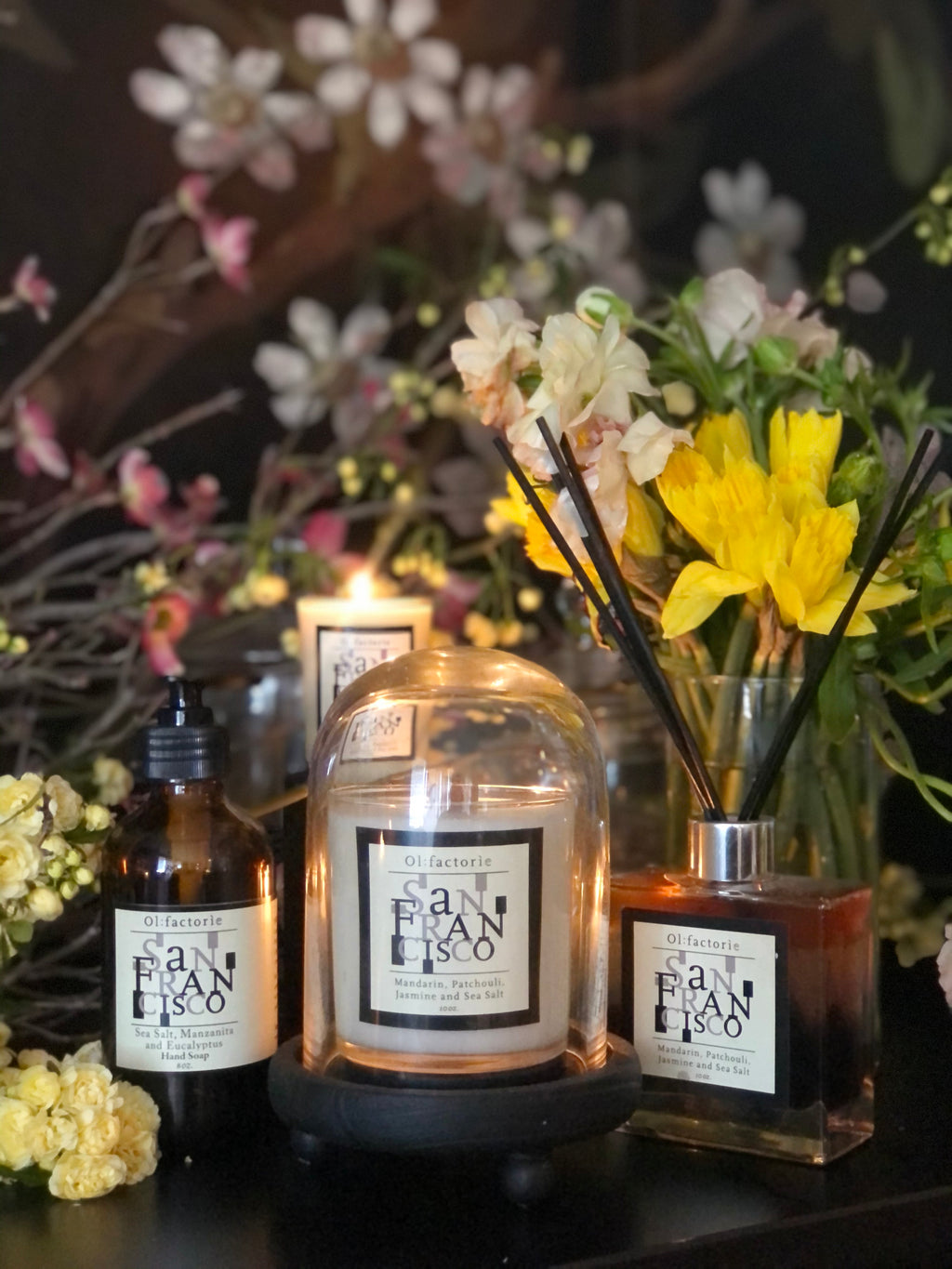 Mothers Day Gift Set - Olfactorie Candles + Apothecary Boutique