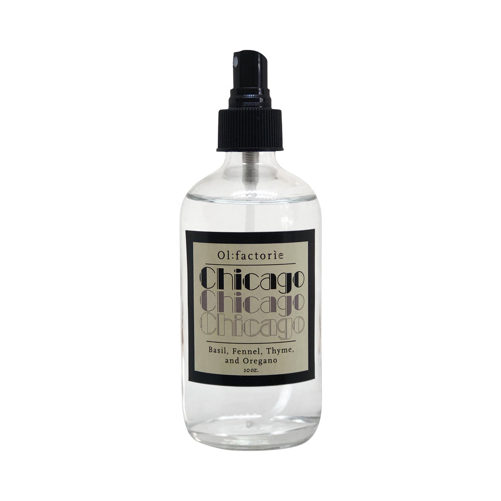 Chicago Travel Mist - Olfactorie Candles