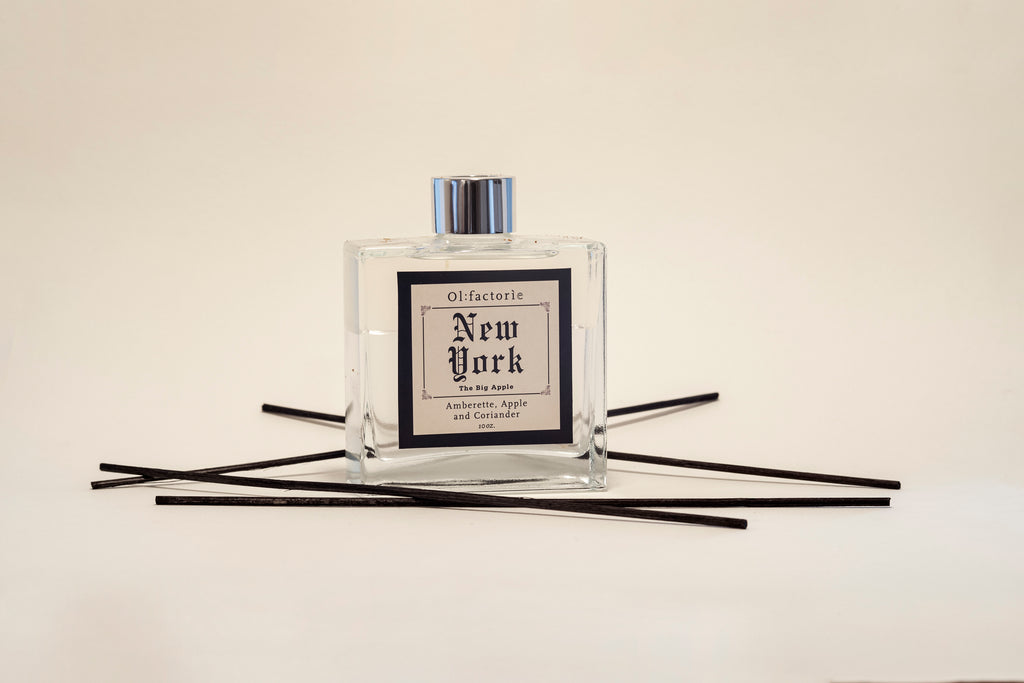 New York Diffuser 10oz - Olfactorie Candles