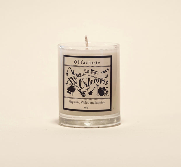 New Orleans Candle 1