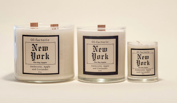 New York Candle 1