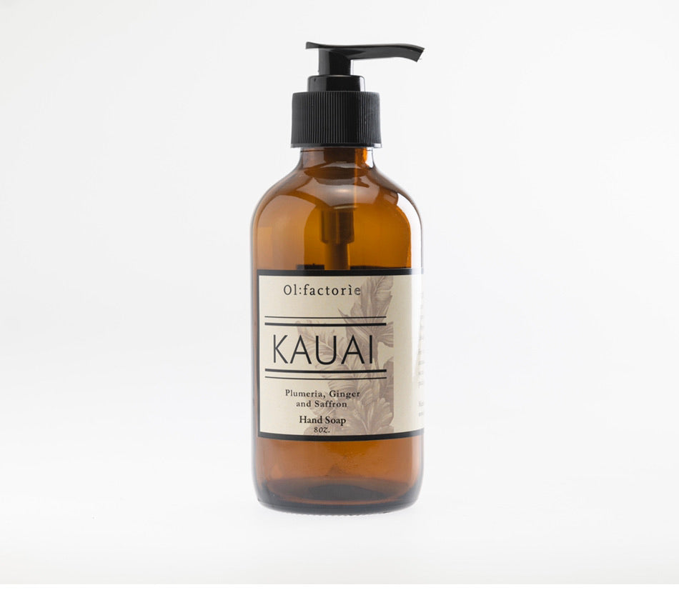 Kauai Hand & Body Soap - Olfactorie Candles
