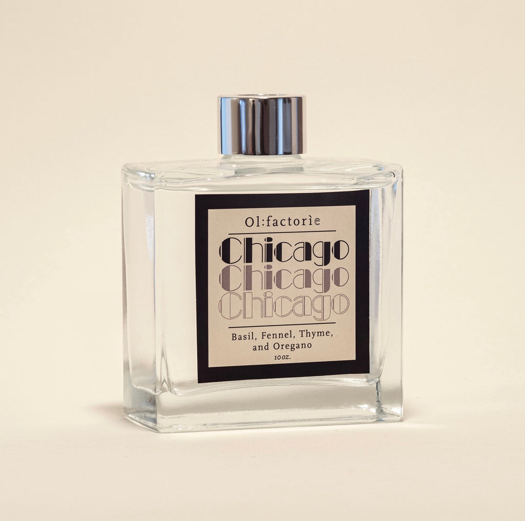 Chicago Diffuser 10oz - Olfactorie Candles