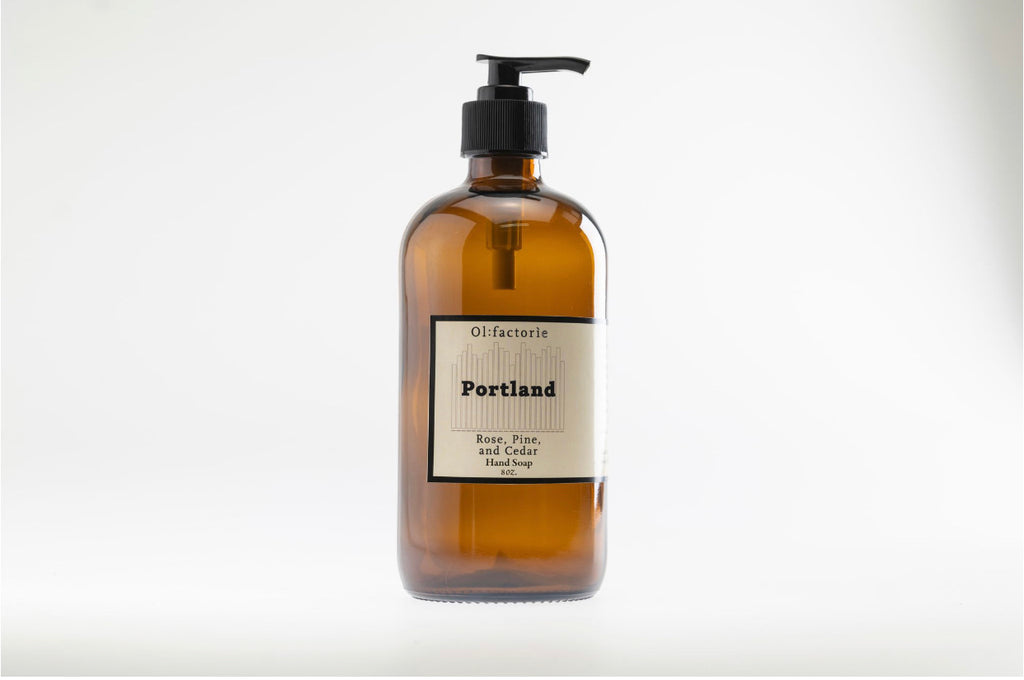 Portland Hand & Body Wash - Olfactorie Candles + Apothecary Boutique