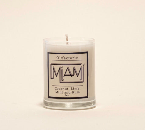Miami Candle - Olfactorie Candles + Apothecary Boutique