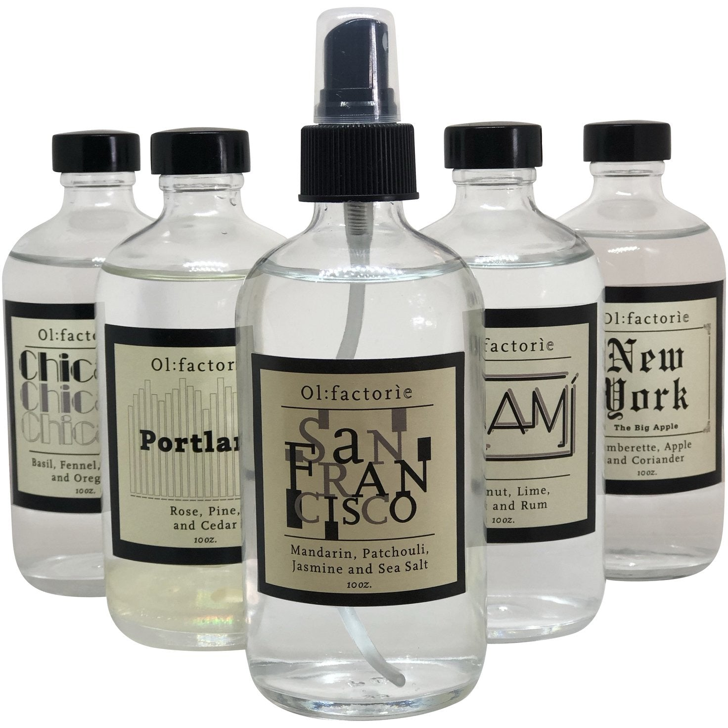 San Francisco Travel Mist - Olfactorie Candles