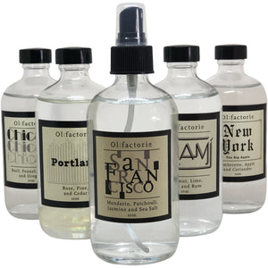 San Francisco Travel Mist - Olfactorie Candles + Apothecary Boutique