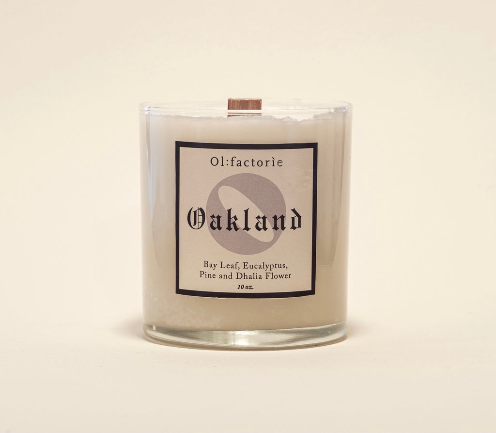 Oakland Candle - Olfactorie Candles + Apothecary Boutique