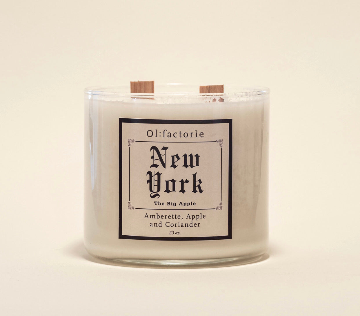 New York Candle - Olfactorie Candles + Apothecary Boutique