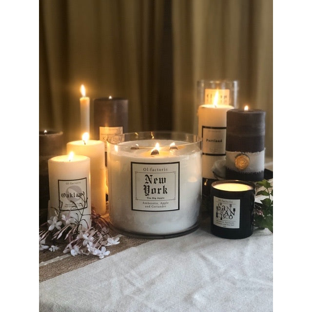 LUXE Collection New York Candle - Olfactorie Candles