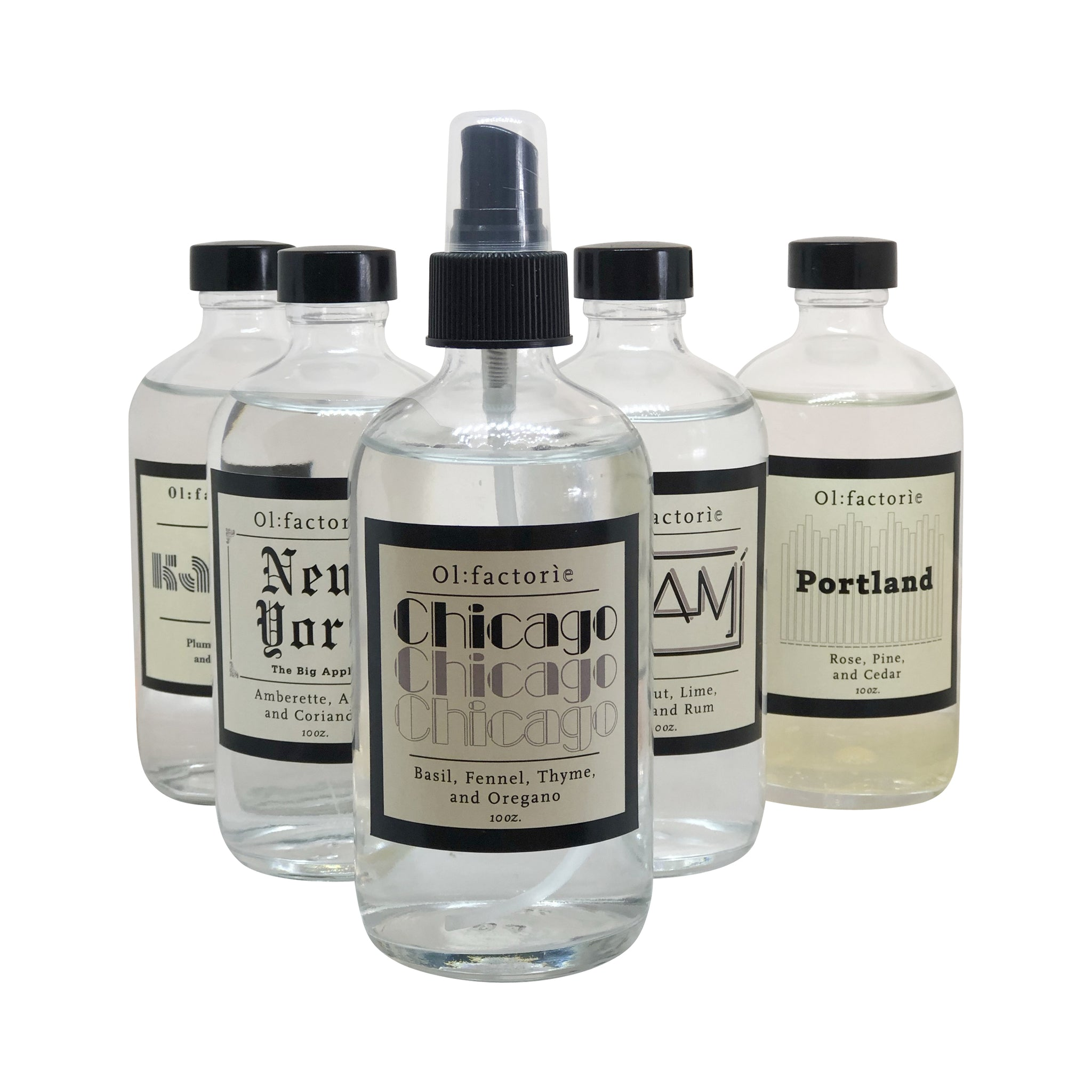 Chicago Travel Mist - Olfactorie Candles + Apothecary Boutique