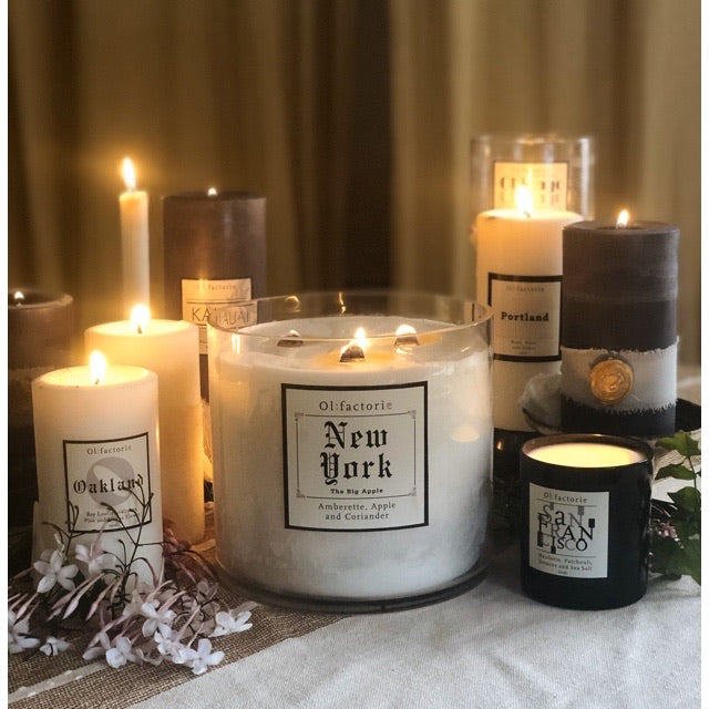 New York Candle - Olfactorie Candles