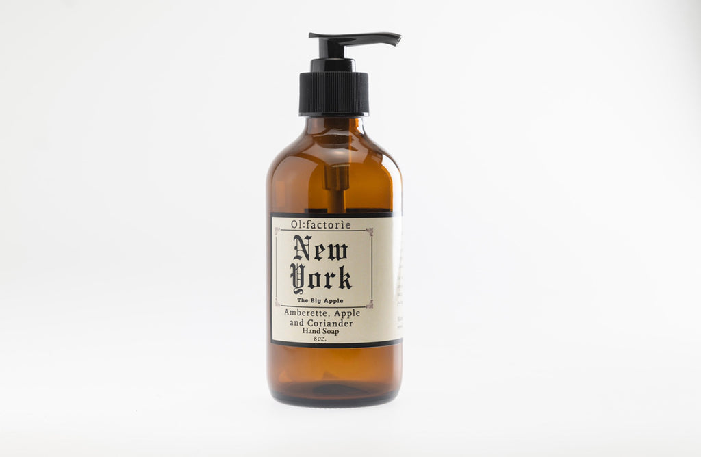 New York Hand & Body Soap - Olfactorie Candles