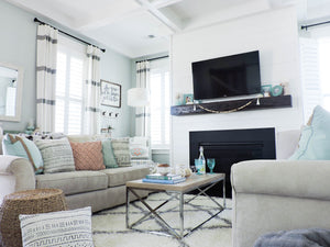 Mini Makeover: Adding Life to our Living Room