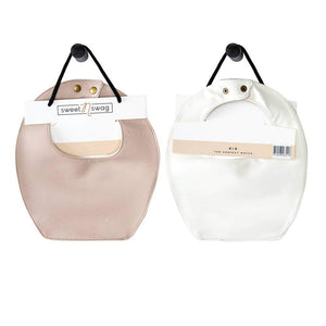 BIB - THE PERFECT MATCH - BLUSH | WHITE - Little Adi + Co.