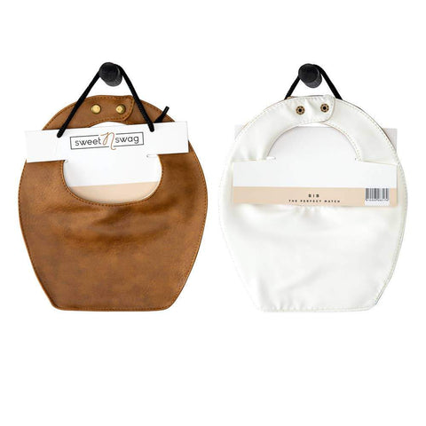 BIB - THE PERFECT MATCH - MEERKAT | WHITE - Little Adi + Co.