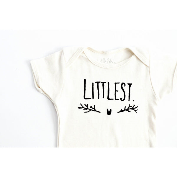 """Littlest"" Organic Lap Tee - Little Adi + Co."