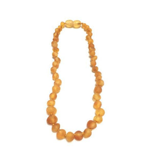 CanyonLeaf - Raw Honey Amber Necklace - Little Adi + Co.