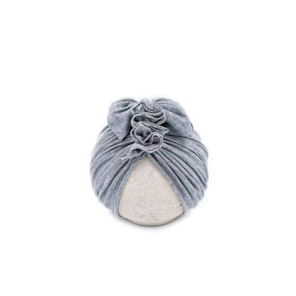 BluTaylor® - Vintage Head Wrap Hat - Heather Grey - Little Adi + Co.