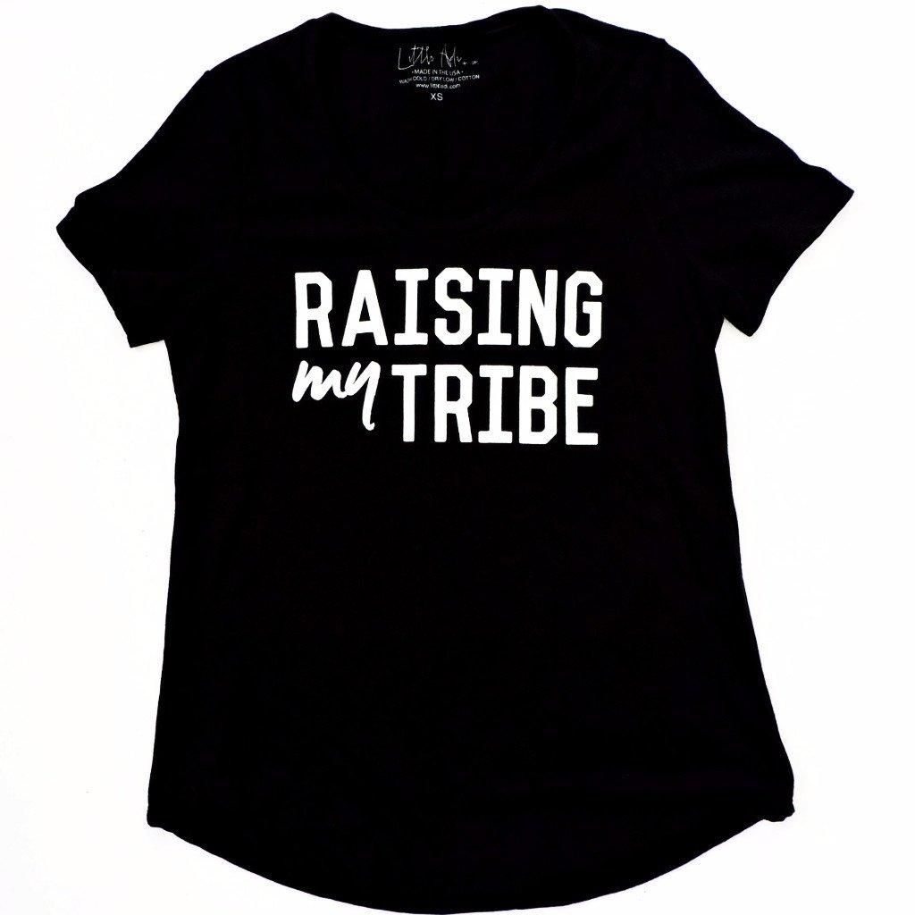 "Adult ""Tribe"" Ultra Wash Tee - Black"