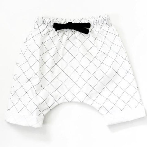 Grid Harem Short